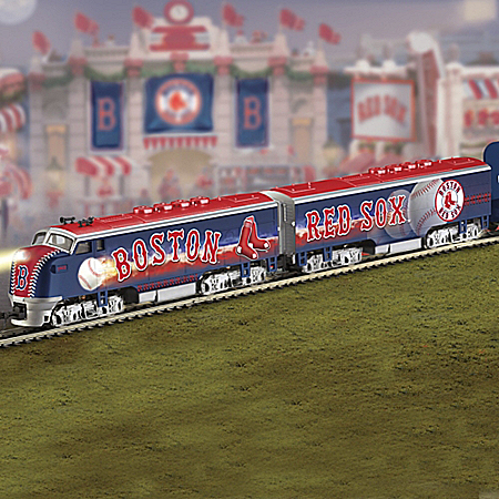Boston Red Sox MLB Express Electric Train Collection