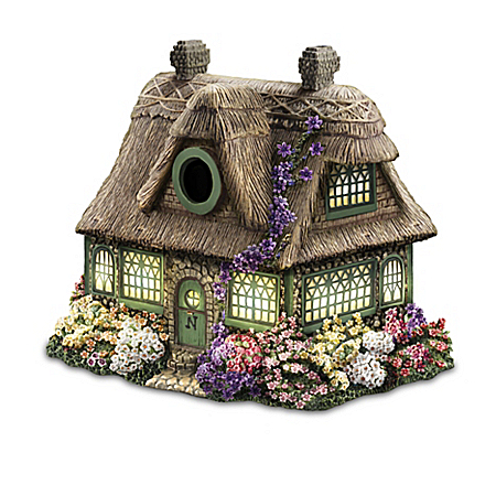 Thomas Kinkade Lighted Birdhouse Collection