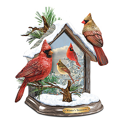 Hautman Brothers Illuminated Songbird Sculpture Collection