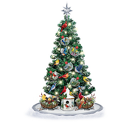 Image of James Hautman 3-Foot Songbird Christmas Tree Collection