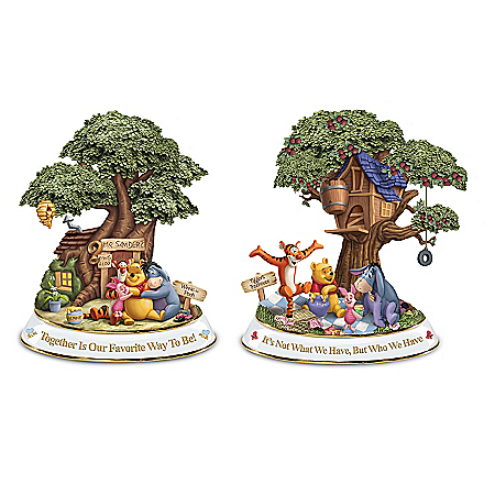 Disney Winnie The Pooh Hundred Acre Wood Sculptures