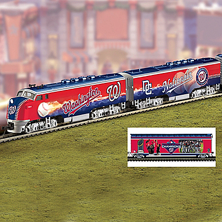 Washington Nationals MLB Express Electric Train Collection