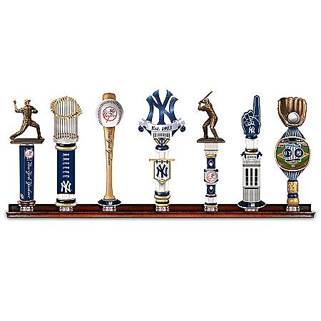Yankees Vintage-Style Beer Tap Handles With Display