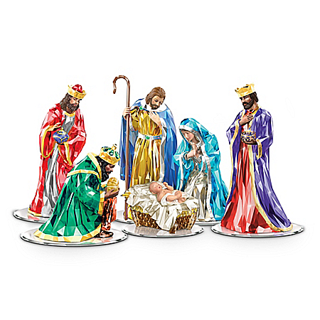Reflections Of Peace Nativity Collection