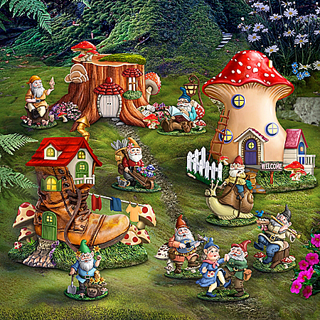 Toadstool Hollow Village Collection
