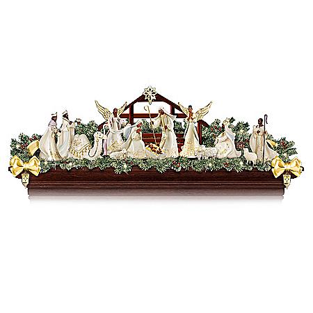 Joyful Blessings Nativity Garland Collection