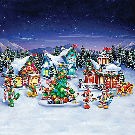 Disney Very Merry Holiday Village Collection