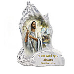 In God's Hands Religious Crystalline Sculpture Collection