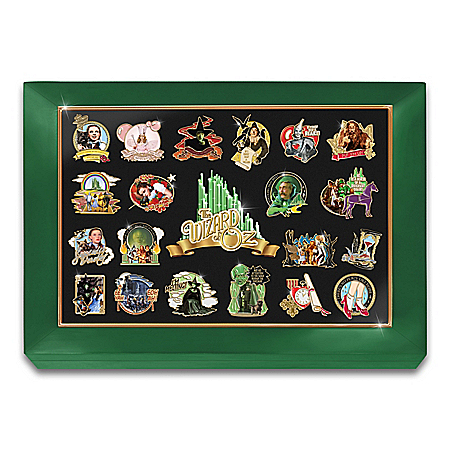 THE WIZARD OF OZ Masterpiece Pin Collection And Display