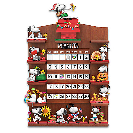 PEANUTS Snoopy Through The Seasons Perpetual Calendar Collection