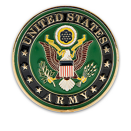 The U.S. Army Core Values Hand-Enameled Challenge Coin Collection