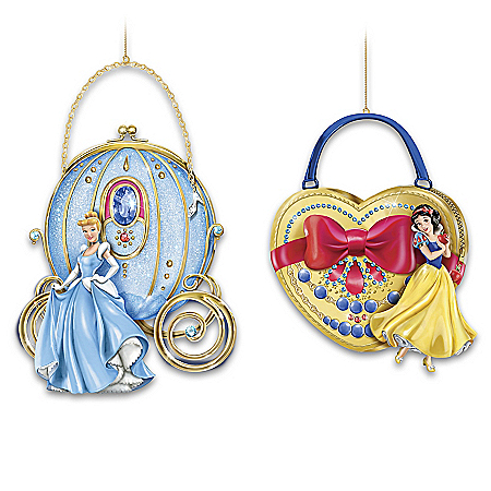Disney Carry The Magic Purse-Shaped Ornament Collection