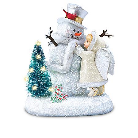 Dona Gelsinger Winter Wonders Snow Angel Figurine Collection