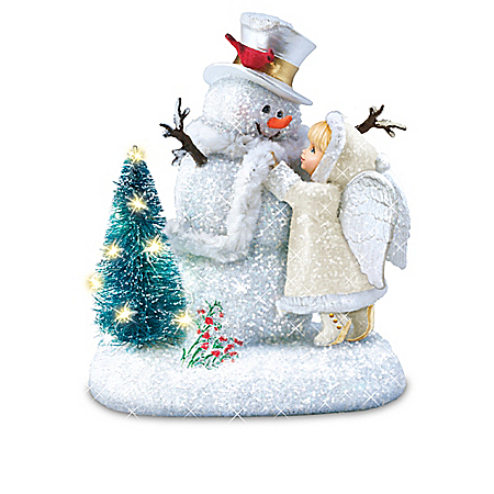 Dona Gelsinger Winter Wonders Snow Angel Figurine Collection