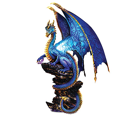 Ancient Mysteries Illuminated Dragon Sculpture Collection