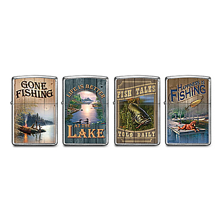 James Meger The Lure Of Fishing Zippo® Lighter Collection