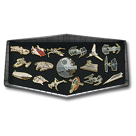 STAR WARS Galactic Pin With Collector Certificate Collection