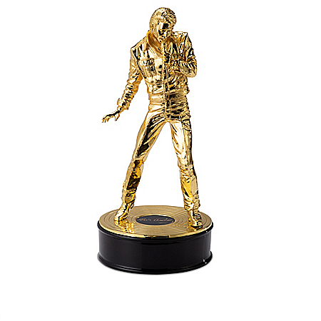 Elvis 85th Birthday Anniversary Cast-Metal Sculptures