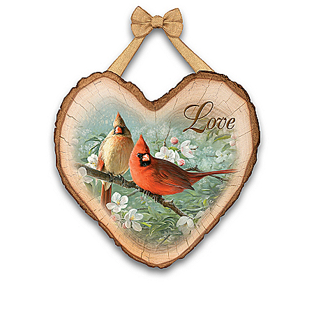 Heart Full Of Blessings Songbird Wall Decor Collection