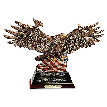 World War II 75th Anniversary Cold-Cast Bronze Sculptures