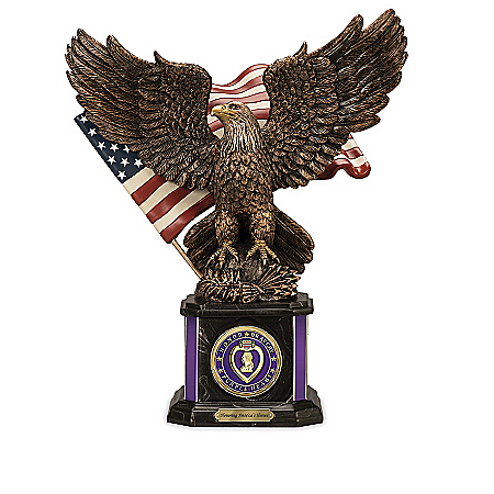 Medals Of America Cold-Cast Bronze Sculpture Collection