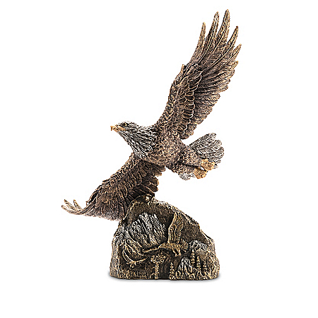 Ted Blaylock Cold-Cast Bronze Eagle Sculpture Collection