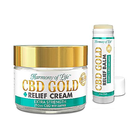 Harmony Of Life CBD Gold Pain Relieving Cream