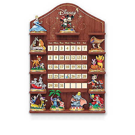 Disney Magical Moments Perpetual Calendar With Display
