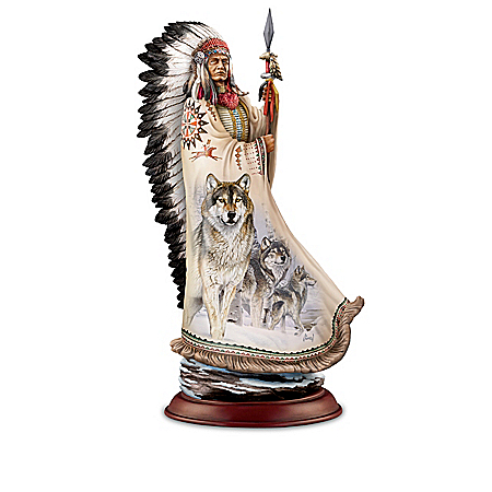 Al Agnew Sculptures Inspired By Native American Chiefs