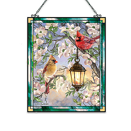 Dona Gelsinger Songbirds Stained Glass Suncatcher Collection