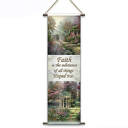 Thomas Kinkade God's Promises Fabric Tapestry Collection