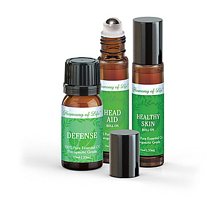 Mind And Body Essential Oils Kit Collection