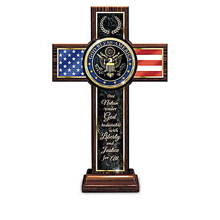 God And Country Wooden Cross Collection