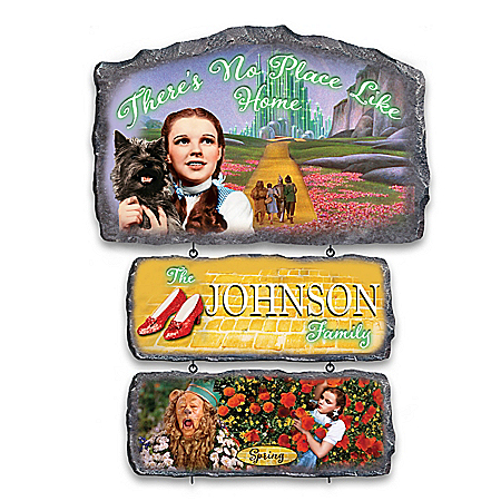 Personalized THE WIZARD OF OZ Seasonal Welcome Sign