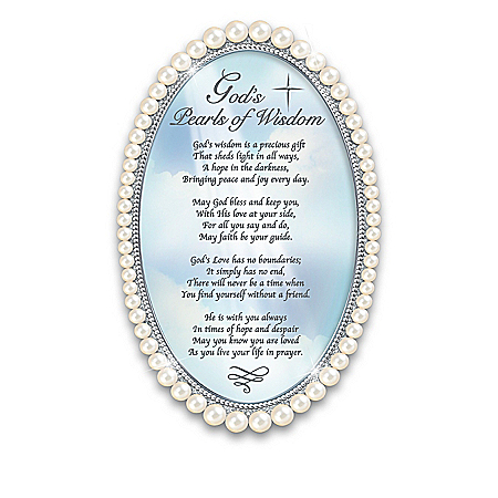 God's Gifts Religious Framed Poem Collection