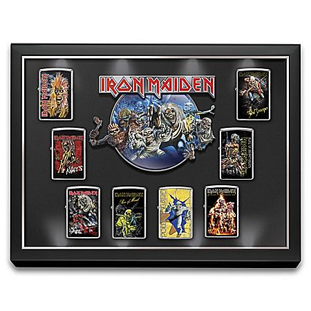Iron Maiden Zippo® Lighters With Illuminated Display