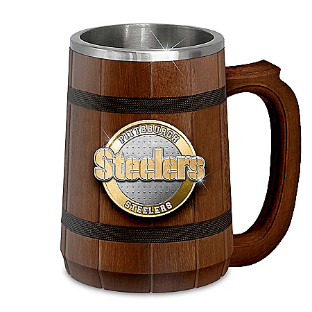Pittsburgh Steelers Tankard Collection