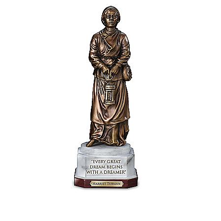 Legacies Of Black History Cold-Cast Bronze Sculptures