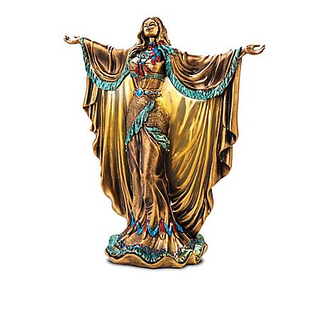 Guiding Lights Illuminated Maiden Sculpture Collection