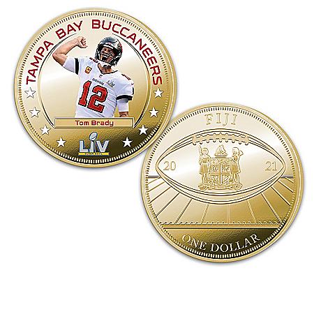 Buccaneers Super Bowl LV Champions Legal Tender Dollar Coins