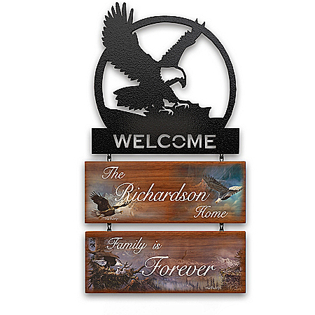 Majestic Guardians Personalized Welcome Sign Collection – Personalized Jewelry