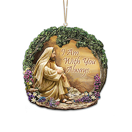 The Greg Olsen Religious Ornament Collection