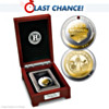 Crimson Tide College Football Championship Silver Proof Coin