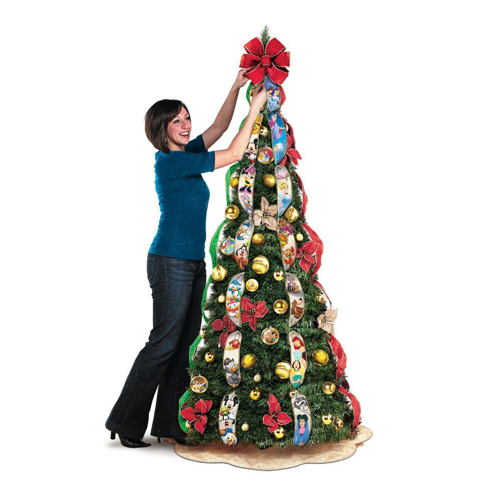 Extreme Christmas Trees: Ultimate Disney 6-1/2' Pre-Lit Pull-Up Christmas Tree