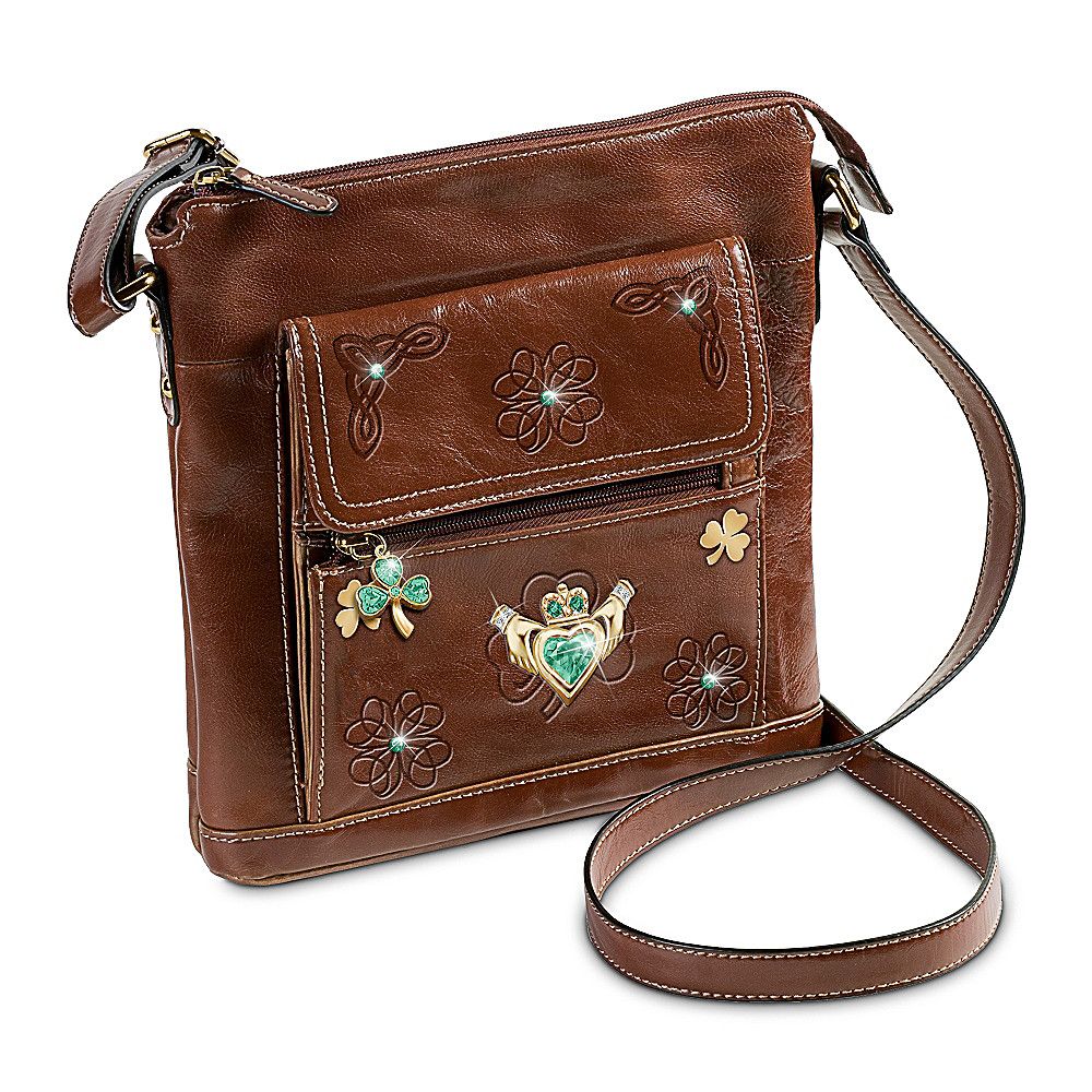 The Bradford Exchange Celtic Couture Irish Crossbody Bag at Sears.com