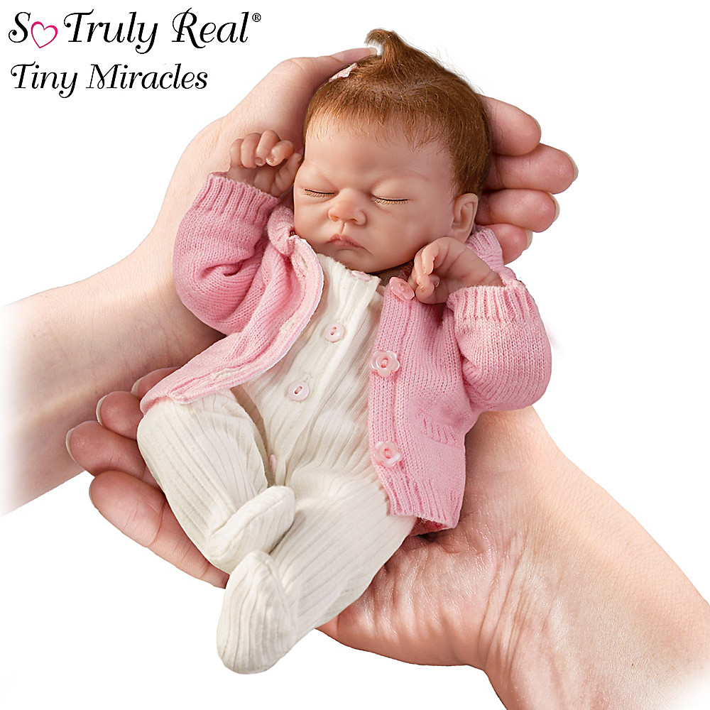 The Ashton-Drake Galleries Tiny Miracles Linda Webb Emmy Lifelike Baby Doll: So Truly Real at Sears.com