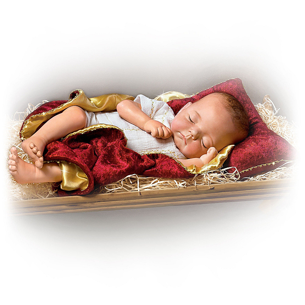 The Ashton-Drake Galleries Jesus: Birth Of A Savior Baby Doll at Sears.com