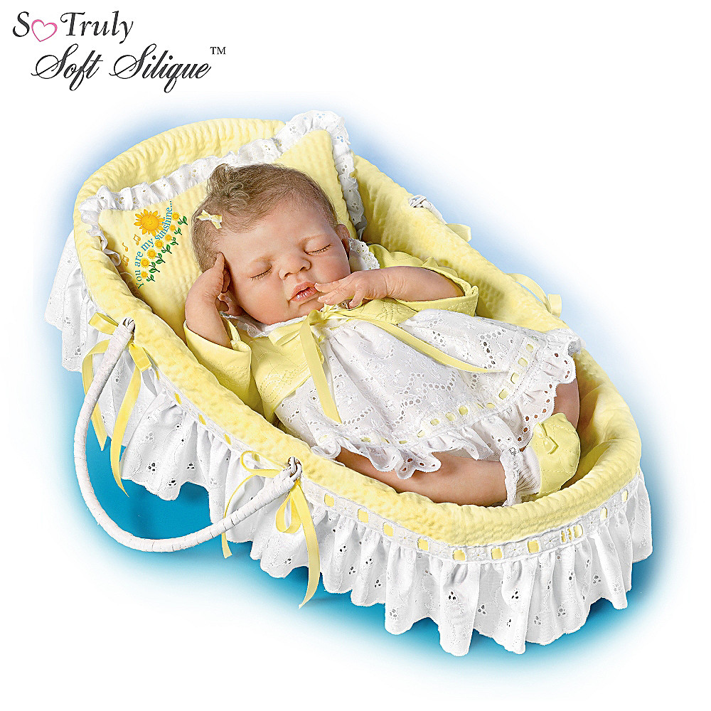 The Ashton-Drake Galleries You Are My Sunshine: 18-Inch Lifelike Baby Girl Doll at Sears.com