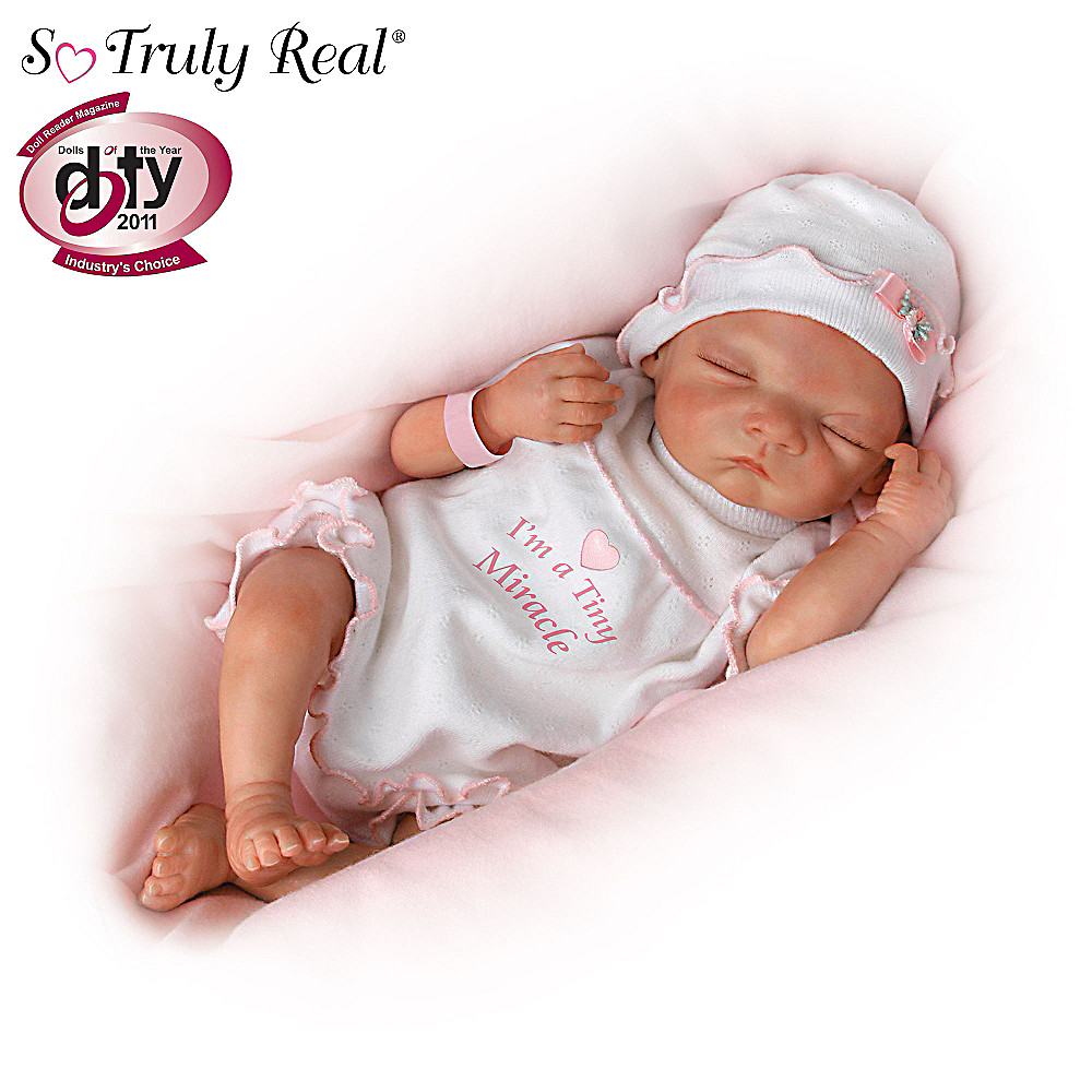 The Ashton-Drake Galleries I'm A Tiny Miracle: So Truly Real Lifelike Baby Girl Doll at Sears.com