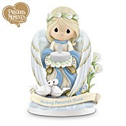The Hamilton Collection Holding Close The Memories Of Loved Ones Past Precious Moments Figurine at Sears.com